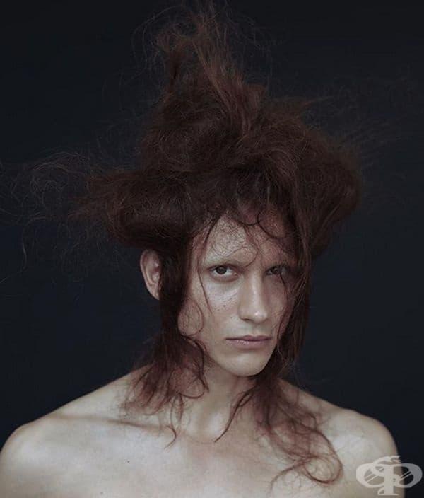 Даниил Кудрявцев, модел. Този модел от Москва има чуждоземни черти, които привличат много фотографи от цял свят.