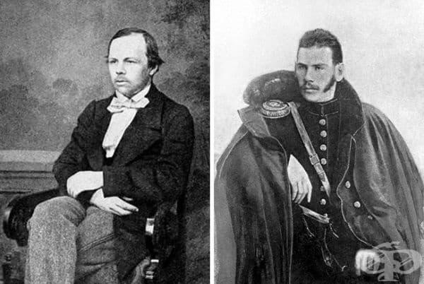 Всеки е свикнал да вижда Достоевски и Толстой като брадати гении. Но те също са били млади някога.