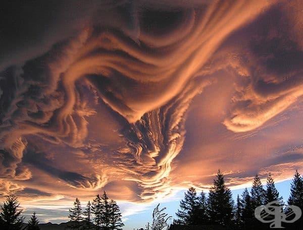 Облаци в Нова Зеландия.