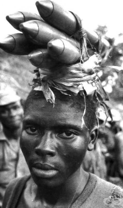 Гражданска война в Република Биафра, Нигерия, 1968.