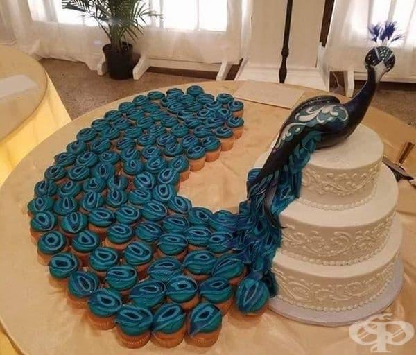 Изключително креативна торта.