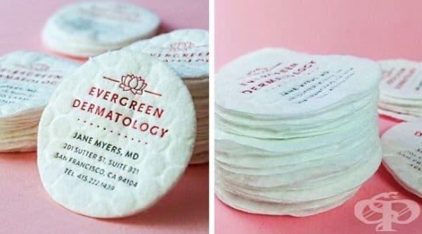 Памучни тампони, превърнати във визитка.
