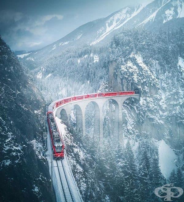 Швейцарска железопътна линия.