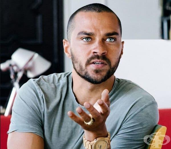 Джеси Уилямс. Актьорът с пленителни очи е от шведски и афроамерикански произход.