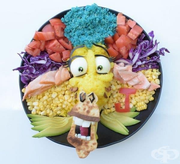 Ето как здравословната храна може да бъде и забавна