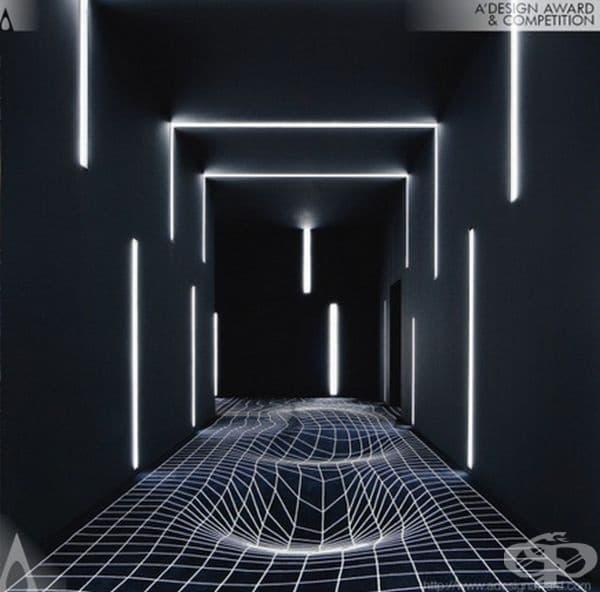 С подобен коридор, докато стигнете до киносалона, ще забравите филма, който ще гледате.