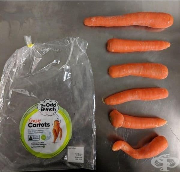 В Австралия супермаркетите продават моркови с нестандартна форма за намаляване на отпадъците.