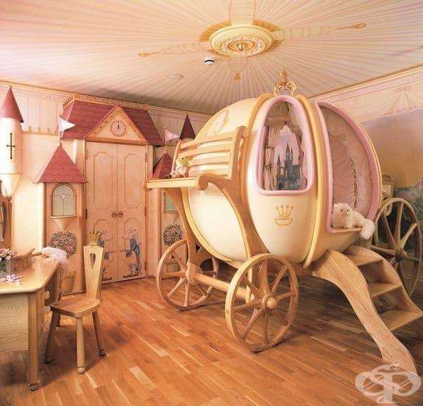 Тази каляска ще помогне на вашата принцеса да заспи преди полунощ.