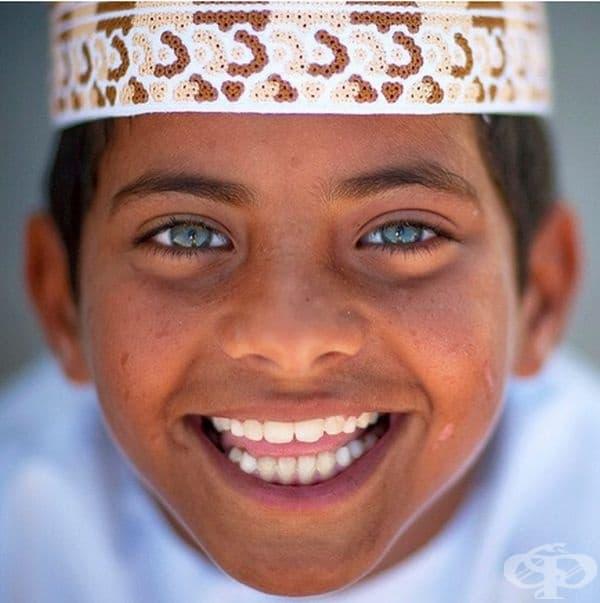 Дете от Оман с невероятен поглед.
