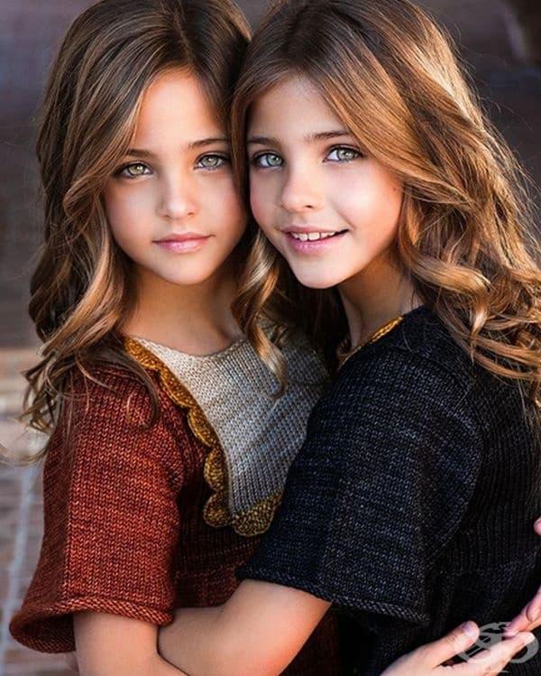 Ава Мари и Лий Роуз са близнаци, известни като най-красивите близнаци в света.