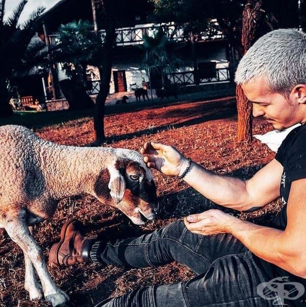 Всякакви организации за защита на животни винаги са били голяма част от живота му.