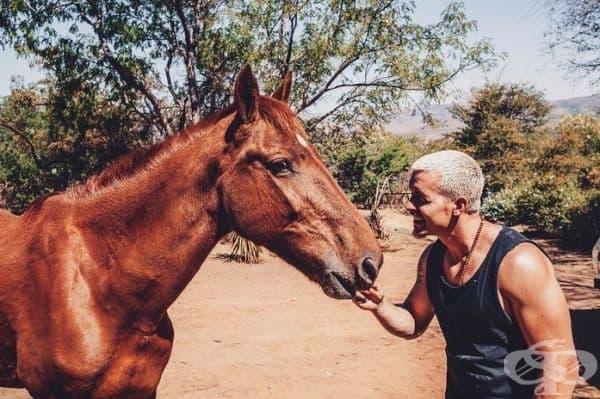 Дийн Шнайдер обича животните от дете.