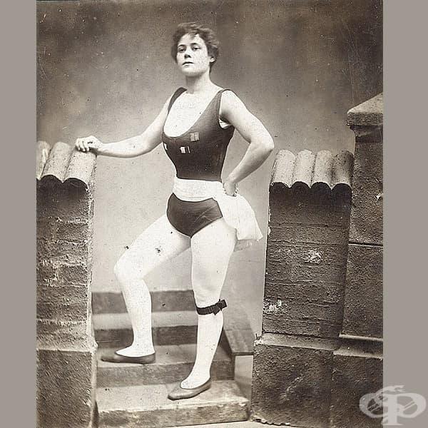 Вулкана - силна жена от Уелс, 1900.
