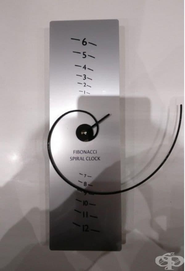 Фибоначи - часовник за любителите на пъзели.