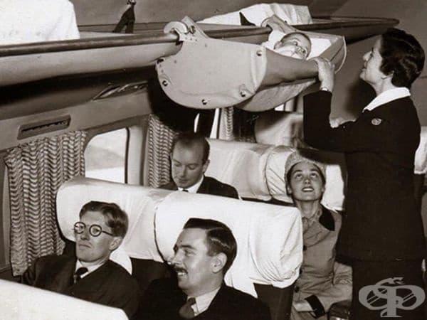 Отношението към безопасността на самолетите е било  малко по-различно през 60-те години.