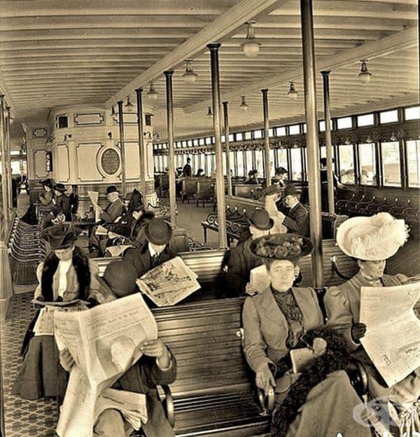 Отказът на хората да участват в случайни социални разговори, много преди изобретяването на смартфони.