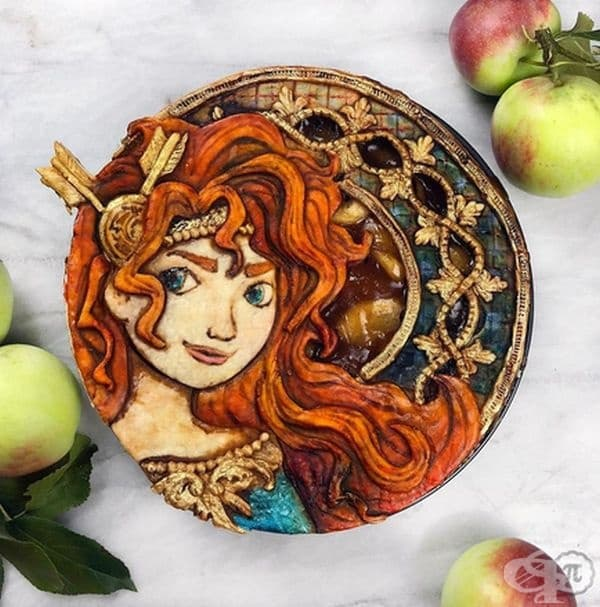Ябълков пай Принцеса Мерида