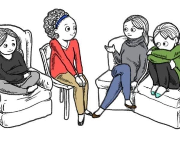 Въпреки че човек често може да сменя позата на седене, то всеки има любима или характерна поза, в която се чувства удобно.