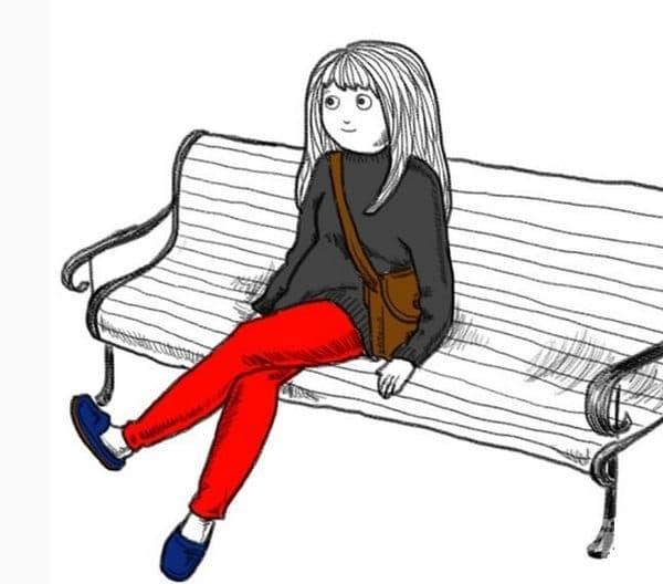 По средата на скамейка, диван. Това е демонстрира увереност и спокойствие. Вие сте приятелски настроени и бързо се сприятелявате.