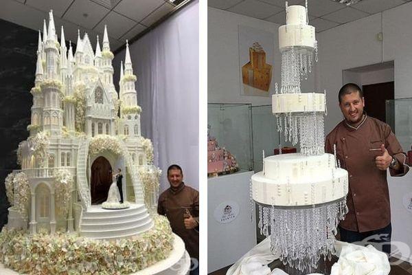 Сладкар от Русия изработва величествени торти, които ще ви спрат дъха - изображение