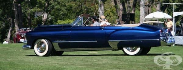 1948 Cadillac Series 62 кабриолет.
