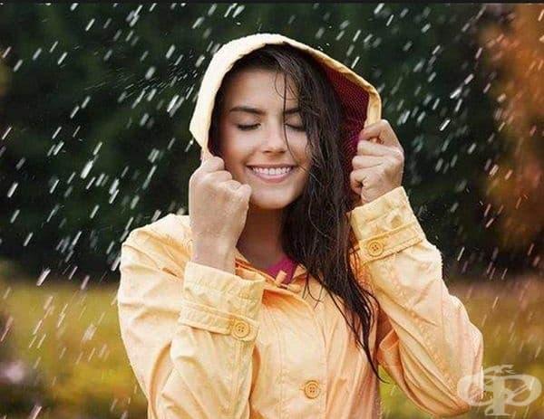 Ароматът на дъжд освежава мозъка.