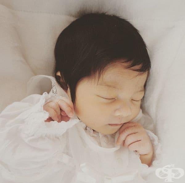 Ето така е изглеждала след раждането си.