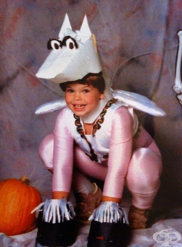 """Моя костюм на Пегас през 1989 г."""