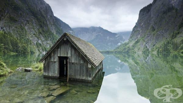 Стара рибарска къща в хармония с природата.