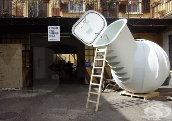 Студената стая е с капацитет 3000 литра, което се равнява на 20 хладилника със среден размер.