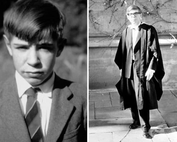 През 1959 г. Хокинг е приет в Оксфордския университет, където записва физика. Желанието му е да учи математика, но в университета няма такъв профил. Баща му настоява да следва медицина.