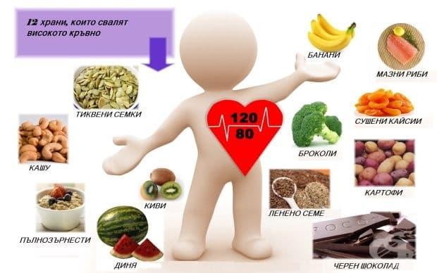 12 храни, които свалят високото кръвно