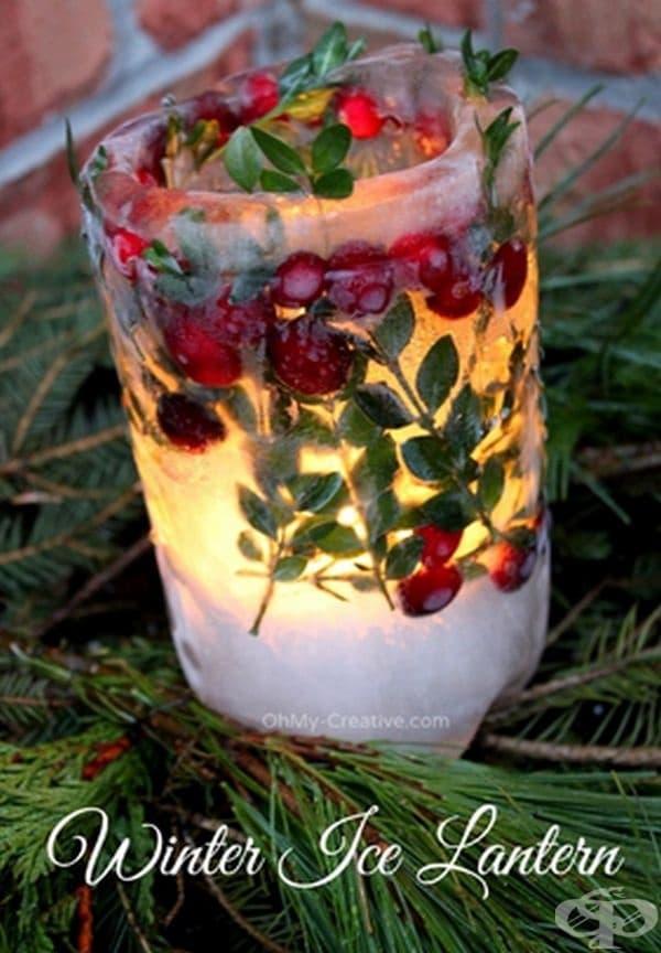 Ледени свещи.