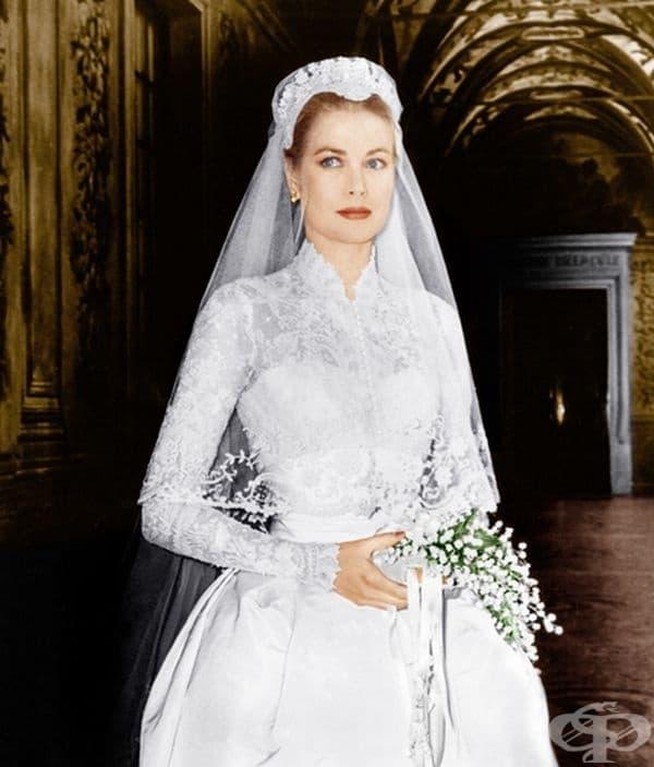 Грейс Кели, принцеса Грейс на Монако, 1956 г.