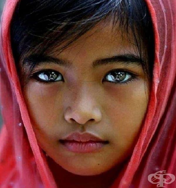 Очите наистина са огледало на душата.