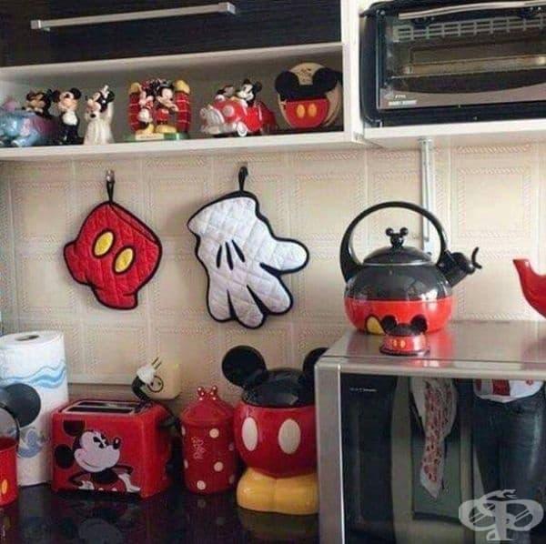 Кухня в стил Мики Маус