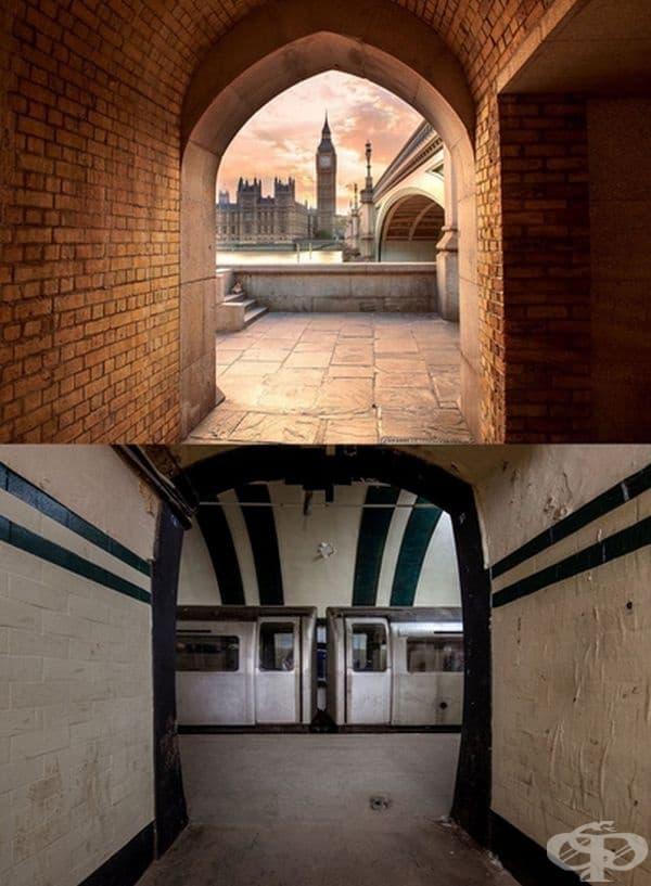 Англия: Биг Бен се намира над изоставената станция на метро Олдуич, открито през 1907 г. като боббоубежище. Използвана е като хранилище на някои от съкровищата на Британския музей-Елгинските мрамори. Закрита е през 1994 г. поради високите разходи.