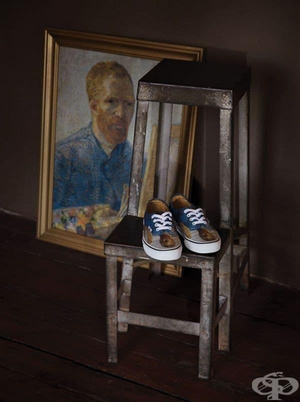 Картините на Винсент Ван Гог оживяват по един стилен и съвременен начин.