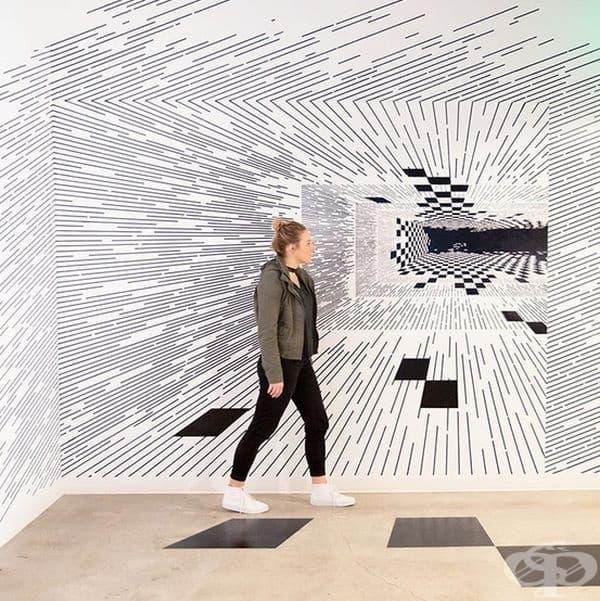 Авторката притежава уникалния талант да превърне обикновените 2D линии в динамични произведения на изкуството.