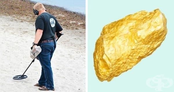 Златотърсач-аматьор открива на брега край Баларат, Австралия, странен предмет, който се оказва злато с тегло – 5,5 кг. Оценено е на повече от 300 000 долара. Това е най-голелмият къс злато, намиран в района.