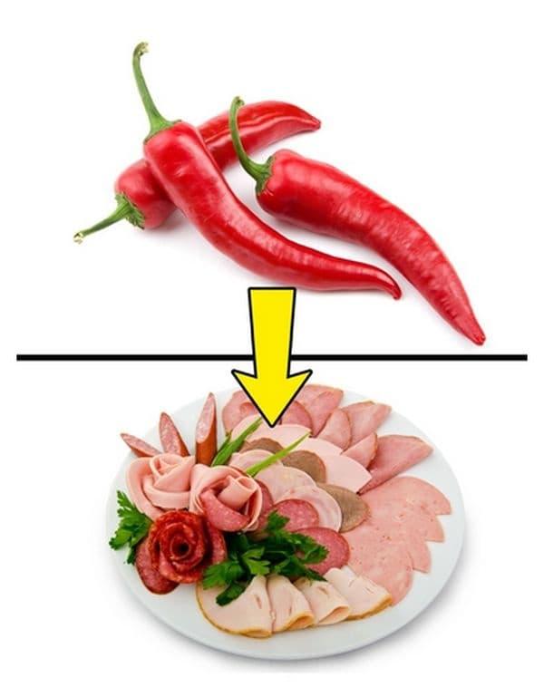 Консумирайте пикантни храни. Лютото е добра алтернатива към вашето ястие, защото стимулира временно метаболизма с до 8%, като по този начин увеличава темповете на изгаряне на калории.