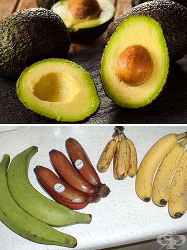 Авокадото е горски плод, както и бананите. Това са месести плодове от едно цвете, така че технически те са класифицирани като плодове.