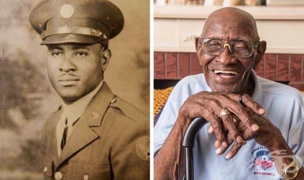 Ричард Арвин Овъртън посрещна 112-я си рожден ден. Той е най-стария сред живите ветерани от Втората световна война и най-възрастния мъж в САЩ.