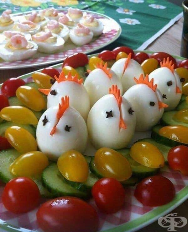12 възхитителни идеи за украса на варени яйца