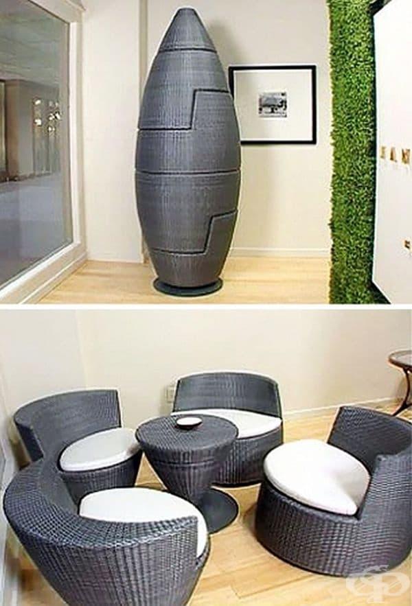 Ракета или маса със столове? Вие решете.