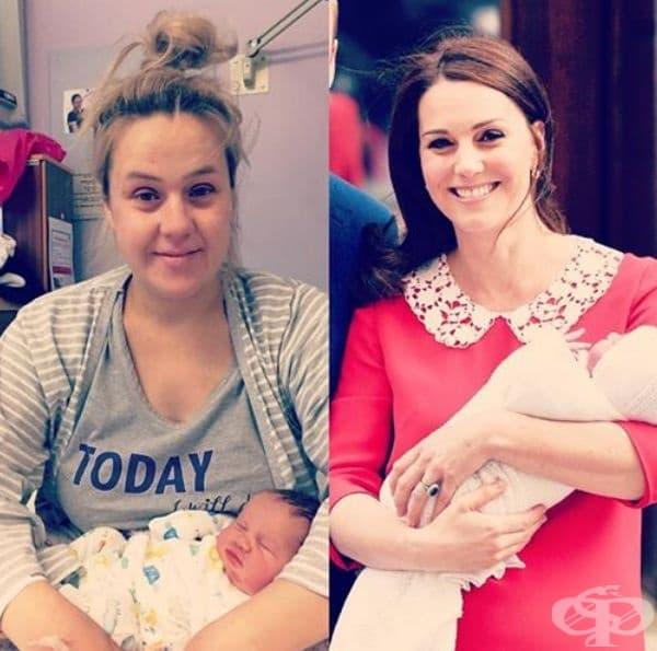 Обикновената жена не отива на фризьор веднага след раждане.