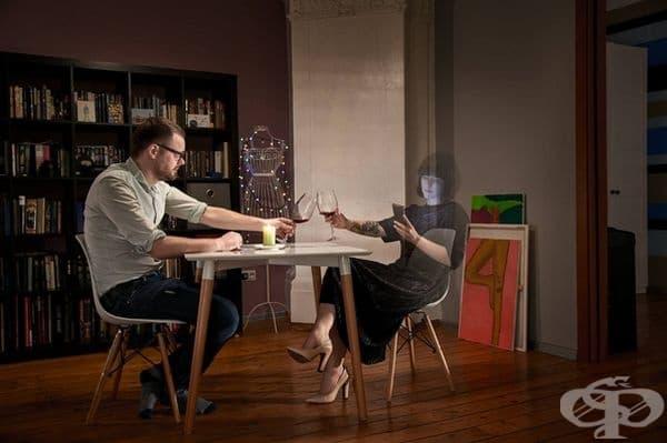 Прекъснатата връзка: когато хората са един до друг, но не се виждат