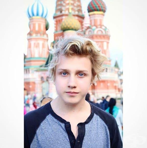 Лукас Портман - син на Наталия Водянова