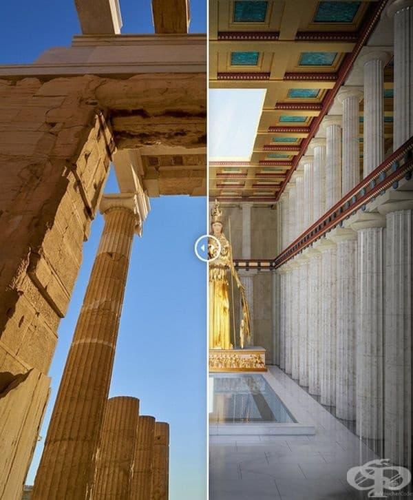 Партенонът (Атина, Гърция)