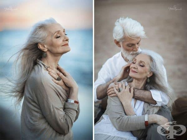 Руски фотограф снима възрастна двойка, за да докаже, че любовта преминава пределите на времето